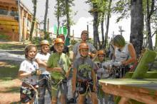Веревочный парк Маугли в Skaypark Сочи